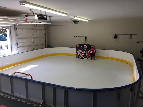 residential ice rink of Anton Strålman