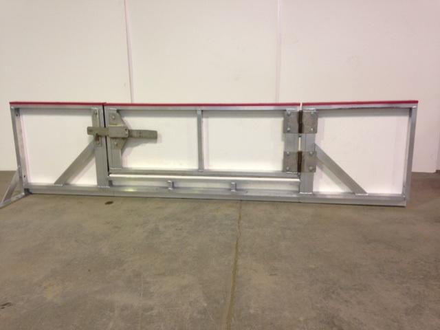bande de hockey -  Bande porte de patinoire d'accès à la glace pour équipement de hockey: