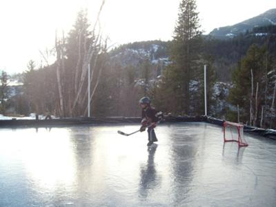 My First Backyard Ice Rink Ken Castlegar BC