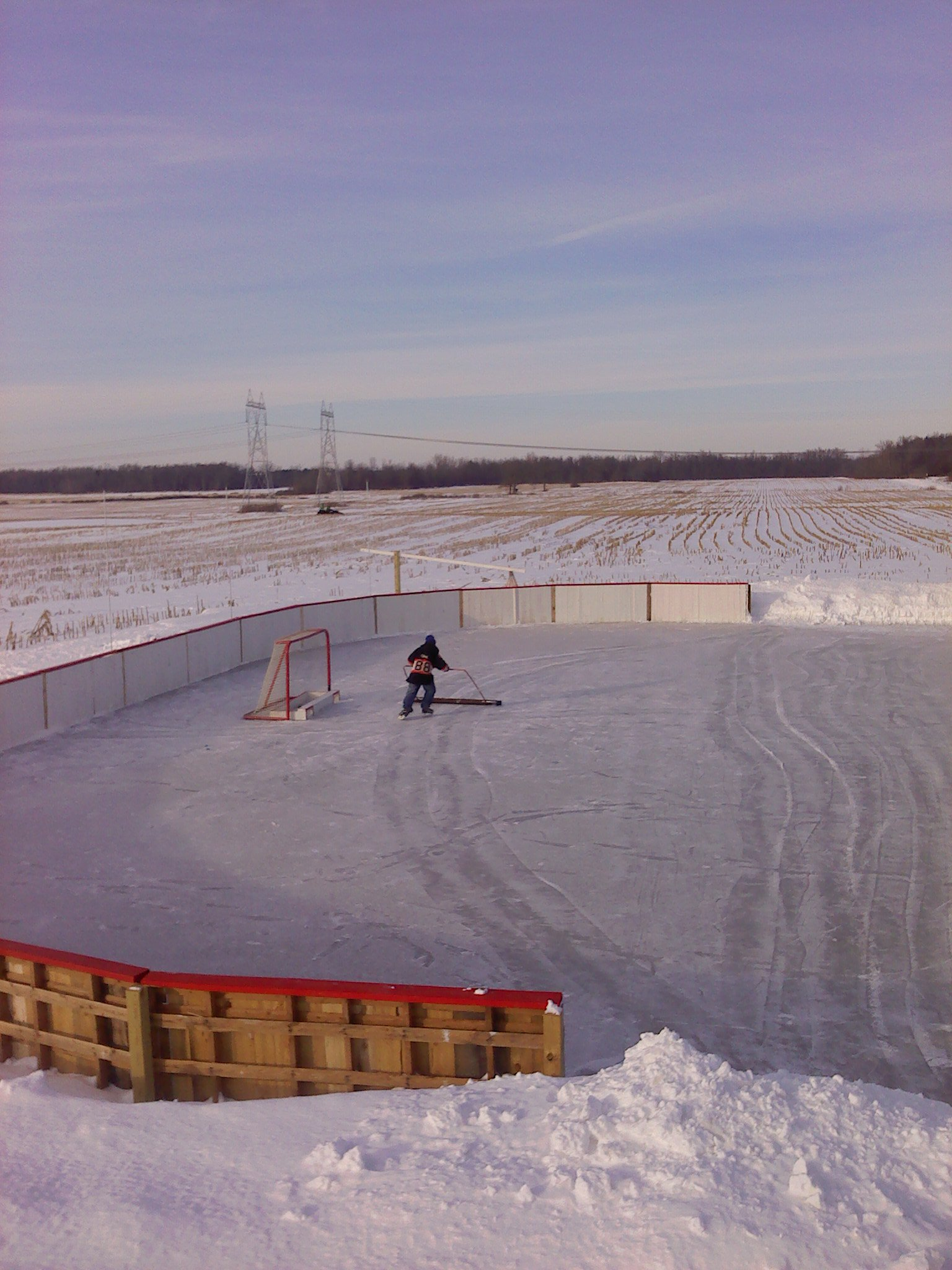Backyard Ice Rinks Build a home ice rink and bring on the hockey