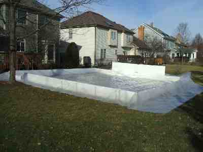 my backyard ice rink liner