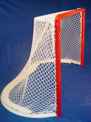 2- 3/8″ NHL Style Arena Hockey Goal - One Piece Welded