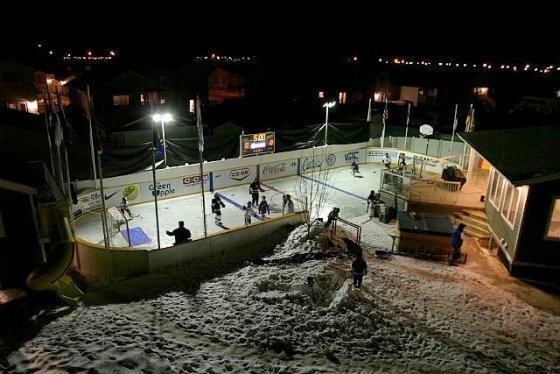 Awesome Backyard Rink