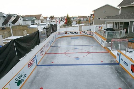 Awesome Ice Rink During the Day