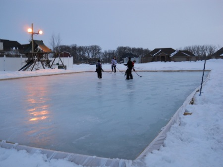 Eke Out More Time On Your Backyard Ice Rink