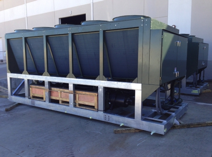 Ice Rink Chiller Systems - Refrigerated Ice Hockey Rink from mybackyardicerink.com  - 125 TON / 200 TON - Glycol