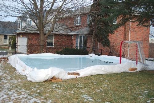 Backyard Ice Hockey Shooting Pad-1