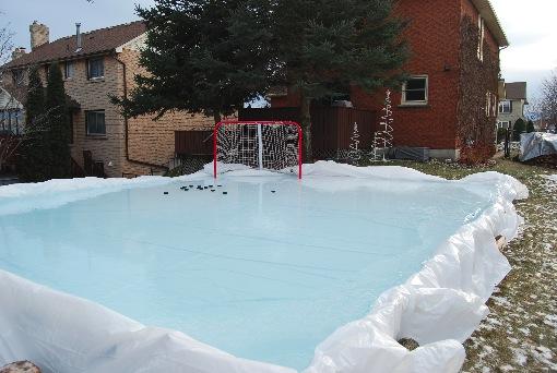 Backyard Ice Hockey Shooting Pad-2