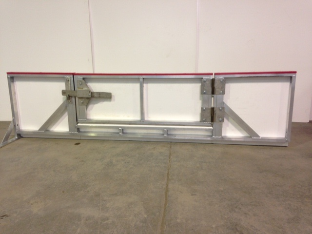 Hockey Rink Board - Entrance Gate for Ice Maintenance and Hockey Arena Rink Servicing