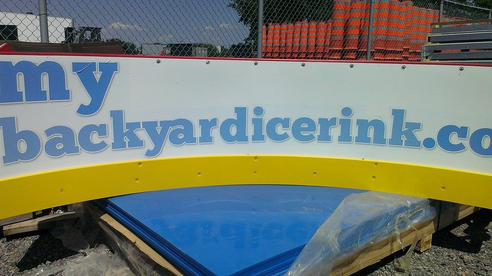 Hockey Boards - My Backyard
