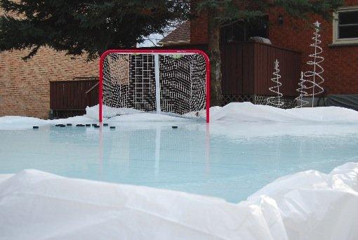 Backyard Ice Hockey Shooting Pad-3