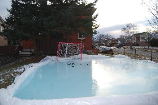 Backyard Ice Hockey Shooting Pad-5